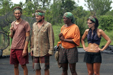 Survivor: Tocantins—the final four