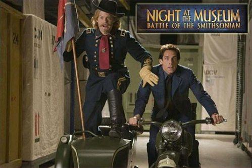 General Custer and Ben Stiller