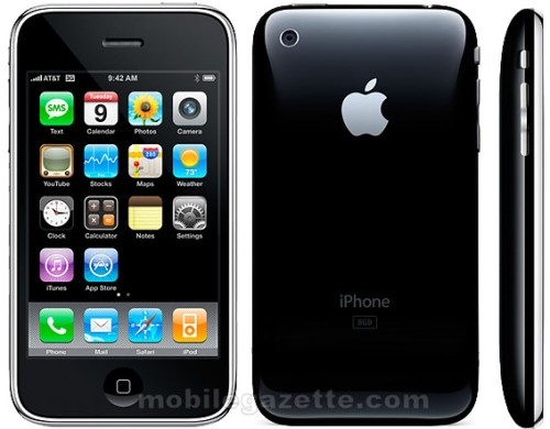 The new Apple iPhone 3GS