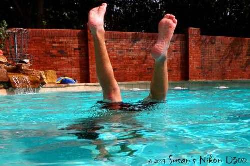 Feet up!