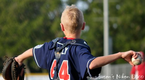 Mohawked catcher Cole