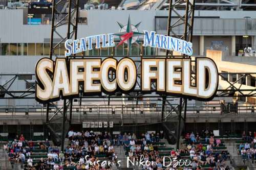 Safeco Field—home of the Seattle Mariners