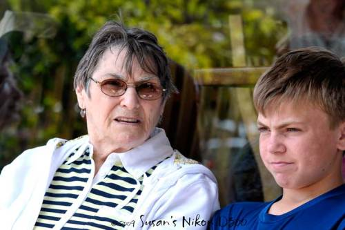 Is the #2 son really listening to his grandma?