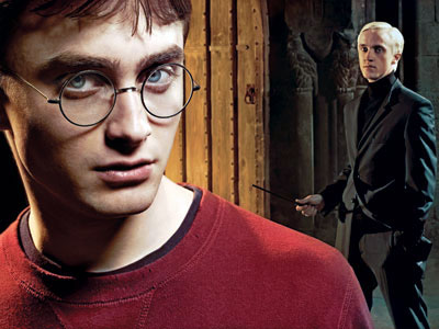 There's still no love lost between Harry and Draco.