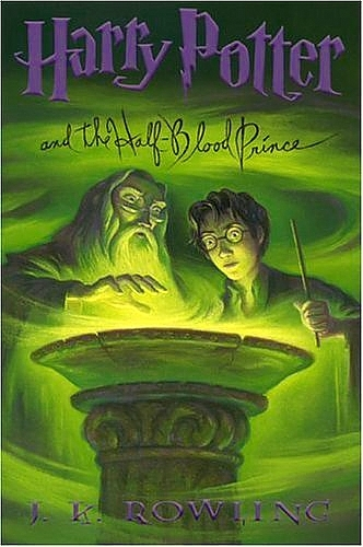 The sixth Harry Potter book