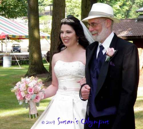 My niece Beck and her father, my ex-BIL