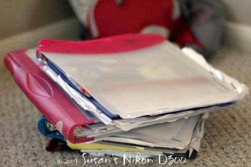 Messy, messy binders