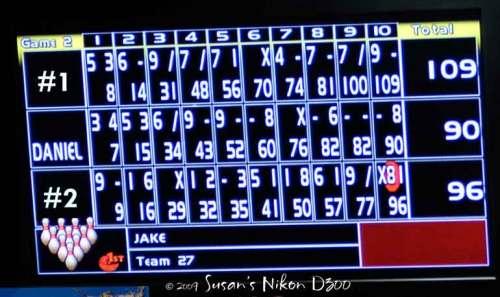 Love the electronic scoreboards!
