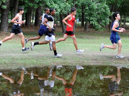 Reflective cross-country runners
