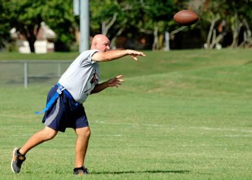 Quarterback Chuck