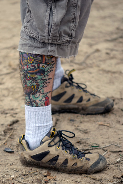 A leg up on the tattoo competition