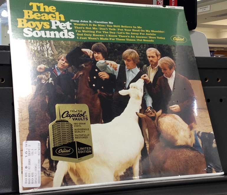 Beach Boys Pet Sounds Vinyl