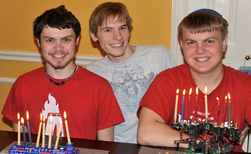 Love this photo of all three of my sons (including Chase in the middle)!
