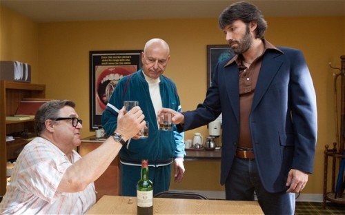 "John Goodman, Alan Arkin, and Ben Affleck in ""Argo"""