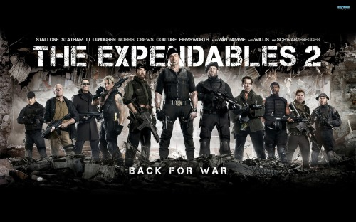 """The Expendables 2"": Truly a dud"