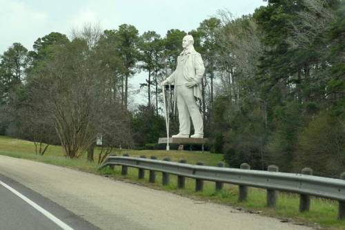 The view as we were driving on Hwy. 45