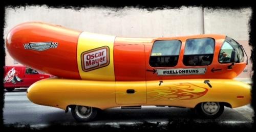 Oh, I wish I were an Oscar Mayer wiener . . . .
