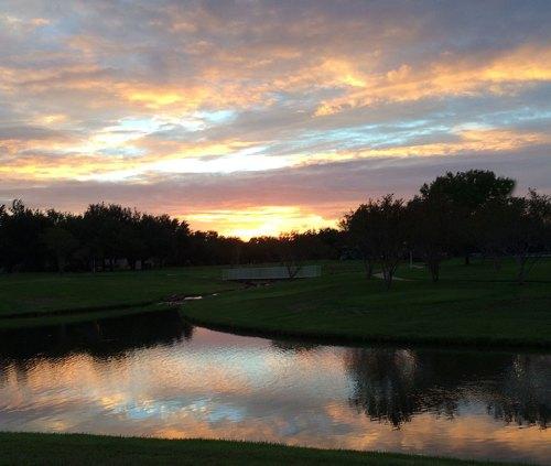 Love those reflective sunrises!