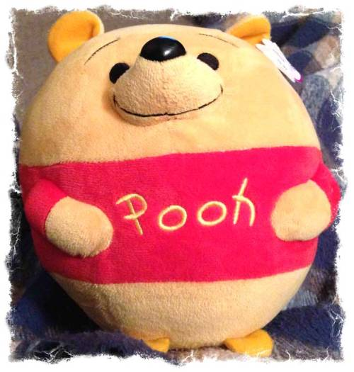 This is our big Pooh Beanie Ball.