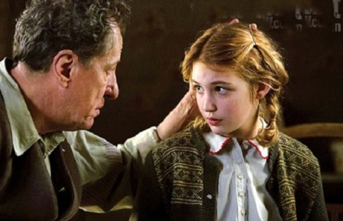 "Geoffrey Rush and Sophie Nélisse made ""The Book Thief"" come alive."