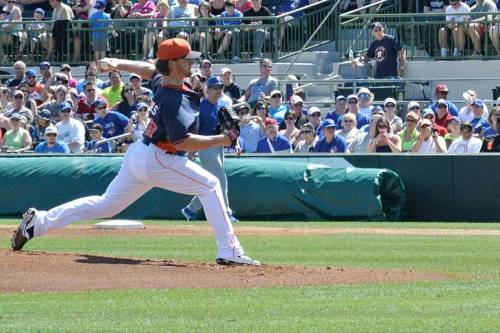 Rudy Owens, who was the starting pitcher, will start the season in the minors.