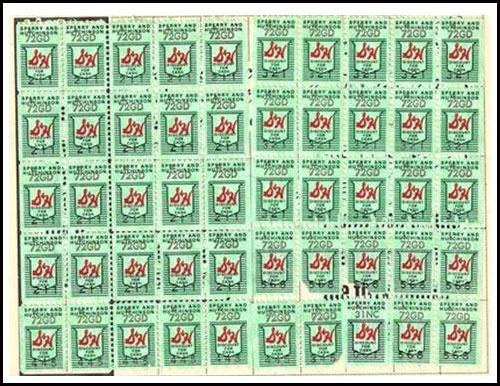 We loved collecting S&H Green Stamps.