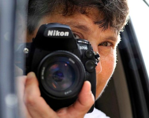 I've been hiding behind a Nikon dSLR for years.